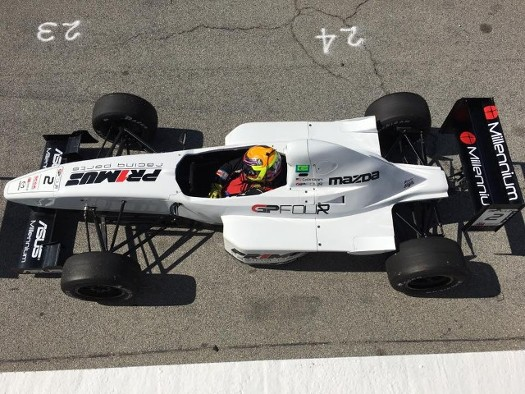 SCCA FE Top View